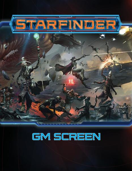 Starfinder RPG: Starfinder GM Screen