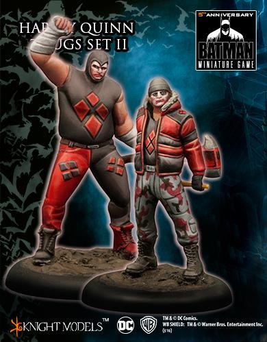 Batman Miniature Game: Harley Quinn Thugs Set #2