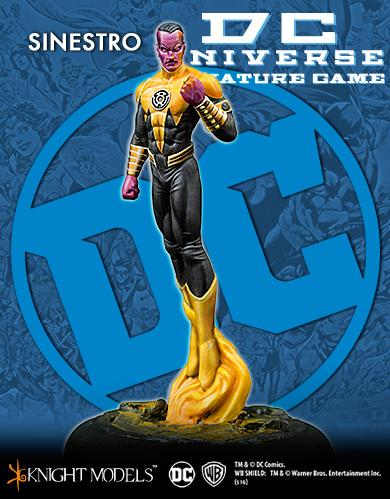 Knight Models DC Universe: Sinestro