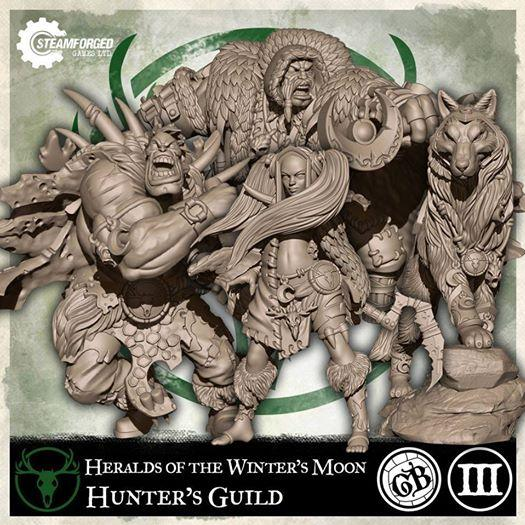 GuildBall: (Hunter's Guild) Heralds of the Winter's Moon Pack (Season 3)