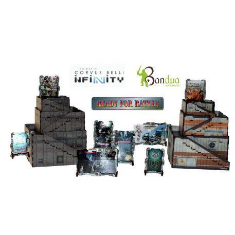 Infinity: (Terrain) Black Market Sector