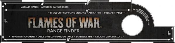 Flames of War: Range Finder (4th ed)