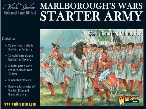 Black Powder (Marlborough's Wars): Starter Army
