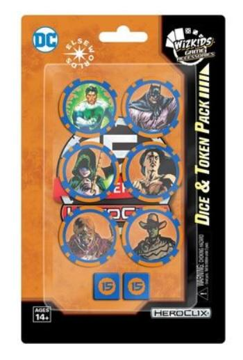 DC HeroClix: 15th Anniversary Dice and Token Pack