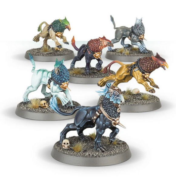 Age of Sigmar: STORMCAST ETERNALS GRYPH-HOUNDS
