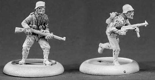 Chronoscope: Zombie German Soldiers (2)