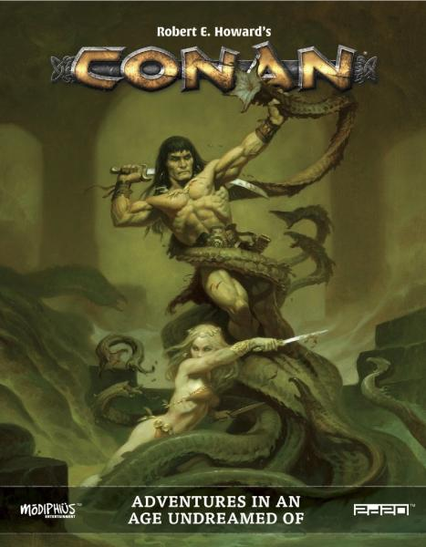 Conan RPG: Adventures in an Age Undreamed Of (HC)