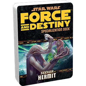 Force and Destiny RPG: Hermit Specialization Deck