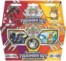 Pokemon CCG: Sun & Moon Trainer Kit - Lycanroc & Alolan Raichu