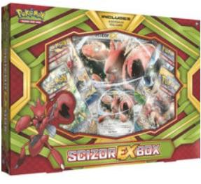Pokemon CCG: Scizor-EX Box (1)