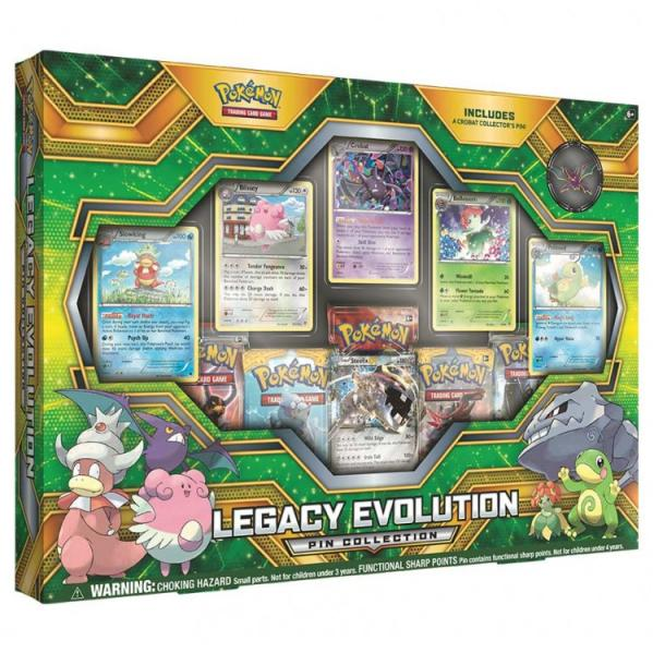 Pokemon CCG: Legacy Evolution Pin Collection