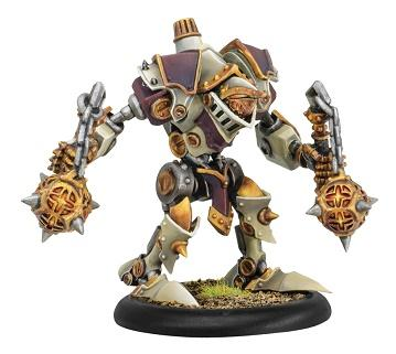 Warmachine: (The Protectorate Of Menoth) Dervish/Devout/Purifier Light Warjack (plastic)