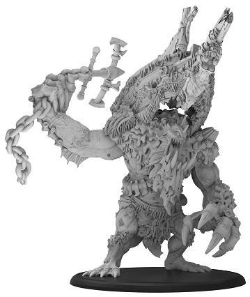 Hordes: (Trollbloods) Sea King - Trollbloods Gargantuan (metal/resin)