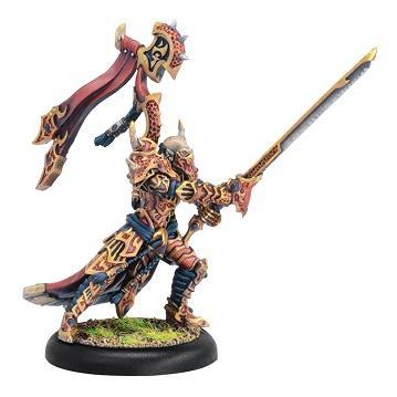 Hordes: (Skorne) Lord Tyrant Zaadesh - Skorne Warlock (metal)