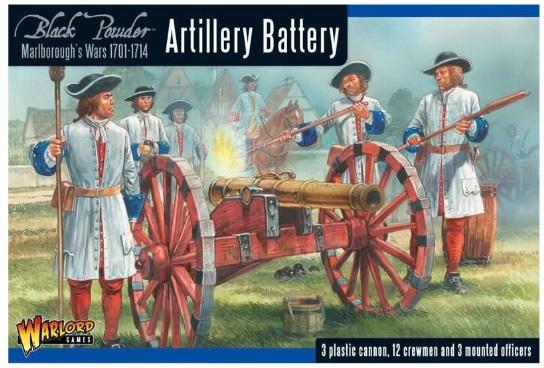 Black Powder (Marlborough's Wars): Artillery Battery