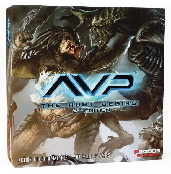 Alien vs Predator (AVP): The Hunt Begins Second Edition