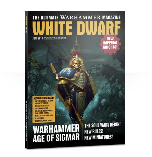 White Dwarf Magazine JUNE 2018