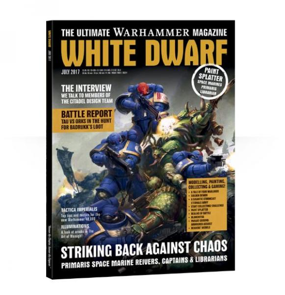 White Dwarf Magazine JULY 2017