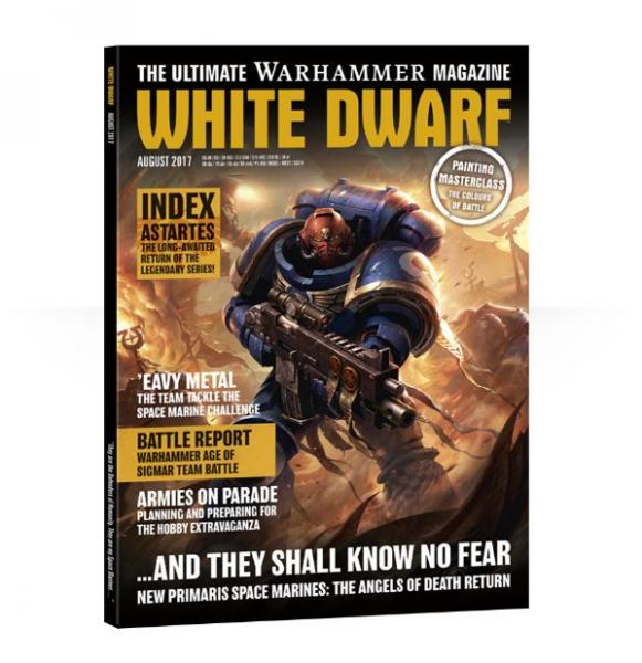 White Dwarf Magazine AUGUST 2017