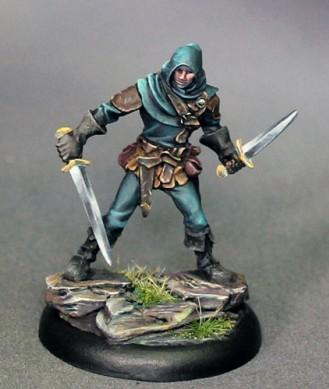 Visions In Fantasy: Male Duel Wield Rogue