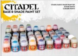 Citadel Base and Shade Paint Set (47pcs)