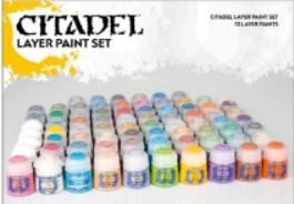Citadel Layer Paint Set (72pcs)