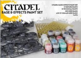 Citadel Base & Effects Paint Set