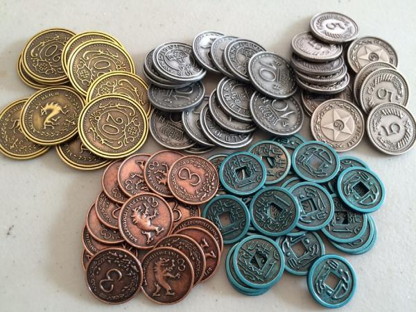 Scythe: (Accessories) Metal Coins