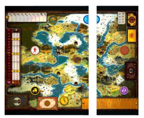 Scythe: (Accessories) Game Board Extension