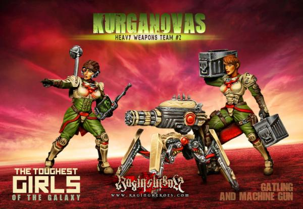 Raging Heroes: (KST) Heavy Weapons Team #02