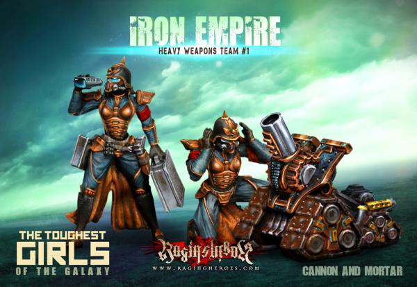 Raging Heroes: (Iron Empire) Heavy Weapons Team #01