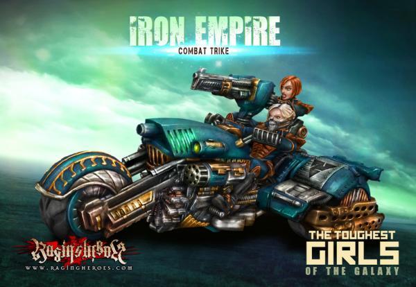 Raging Heroes: (Iron Empire) Combat Trike