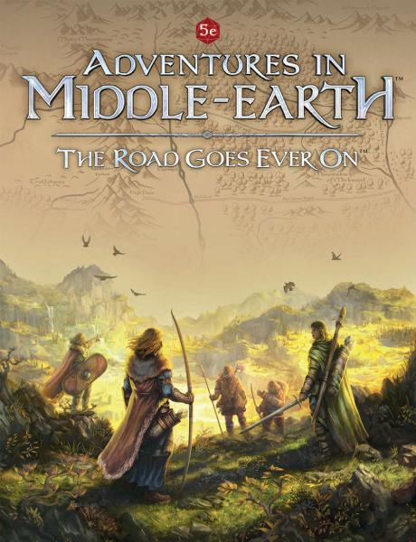 Dungeons & Dragons RPG: Adventures In Middle-Earth - The Road Goes Ever On