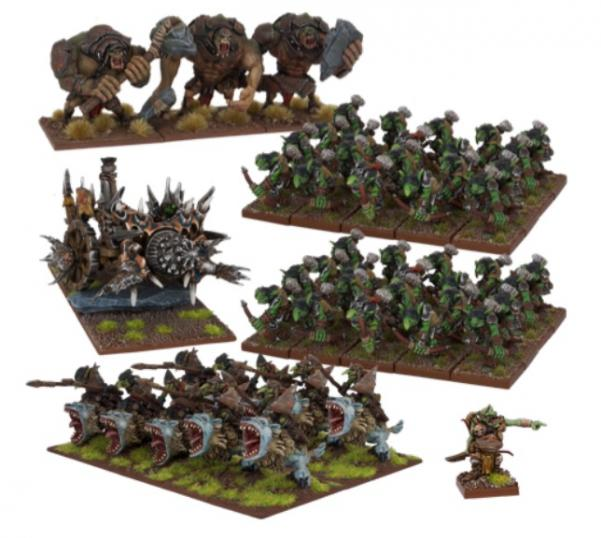 Kings Of War: (Goblin) Goblin Army