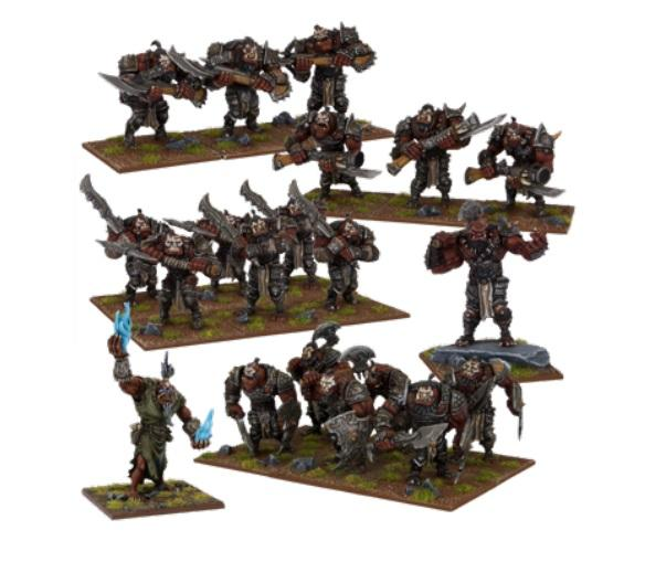 Kings Of War, 2nd Edition: (Ogre) Ogre Army