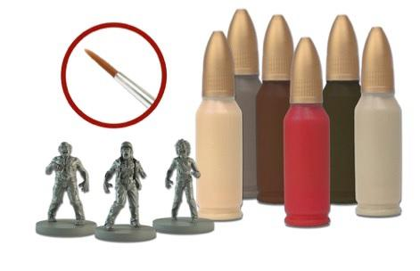 The Walking Dead: (Accessory) The Walking Dead Walker Paint Set