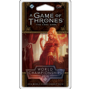 Game of Thrones LCG: 2016 World Champion Deck