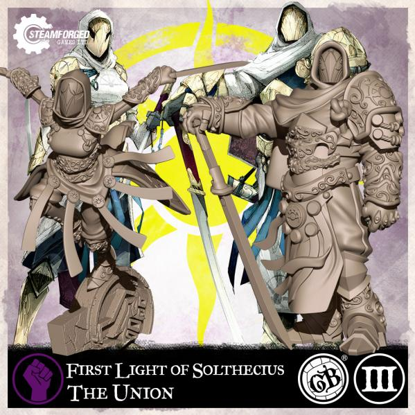 GuildBall: (The Union) First Light of Solthecius (Season 3)
