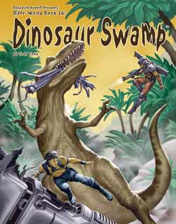 Rifts RPG Dinosaur Swamp