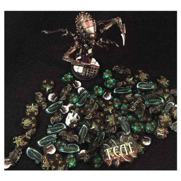 Miniature Tokens & Templates: The Undead Horde Token Pack