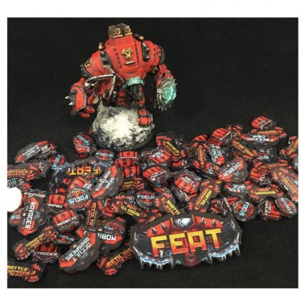 Miniature Tokens & Templates: The Red Army Token Pack