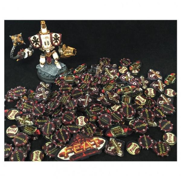 Miniature Tokens & Templates: Holy Crusaders Token Pack