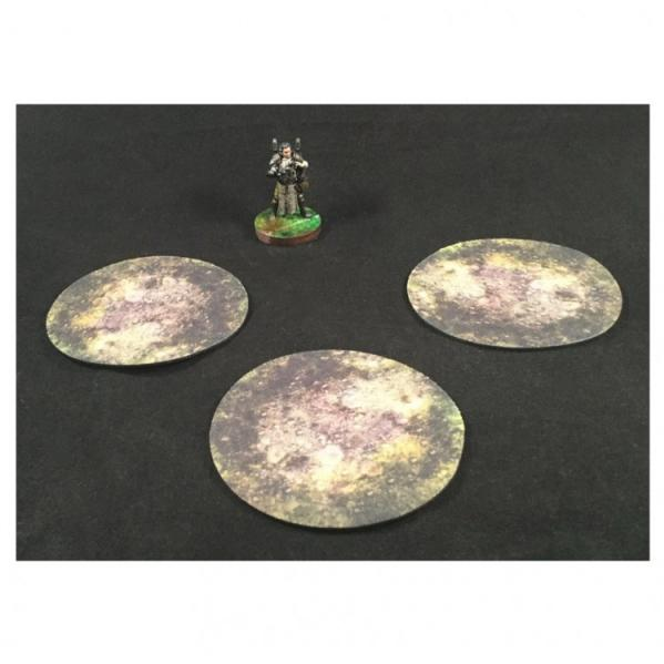 3'' AoE Markers: Rough Terrain