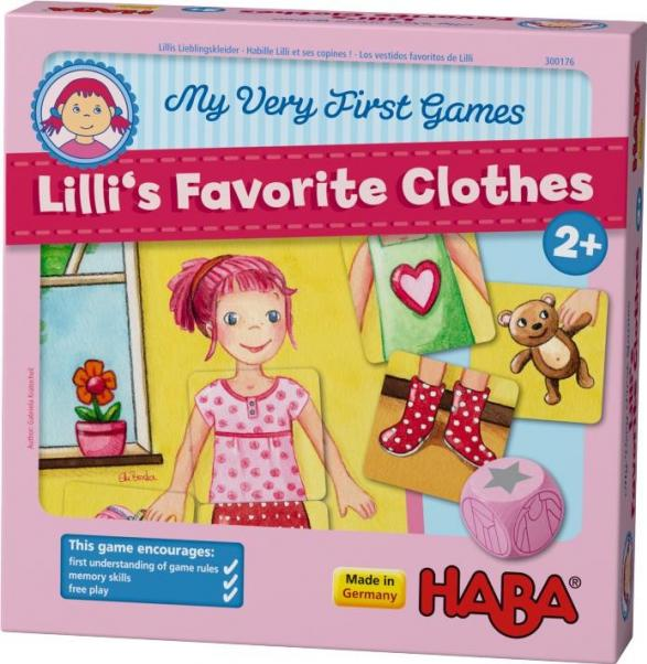 My Very First Game: Lilli's Favorite Clothes
