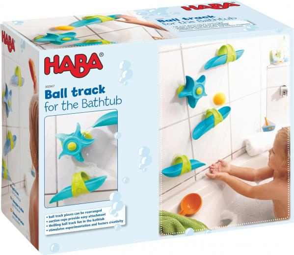 Bathtub Ball Track Set