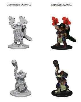 D&D Nolzurs Marvelous Unpainted Minis: Dwarf Male Cleric