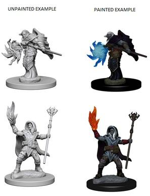 D&D Nolzurs Marvelous Unpainted Minis: Elf Male Wizard