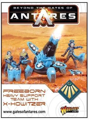 Beyond The Gates Of Antares: (Freeborn) Freeborn X-Howitzer