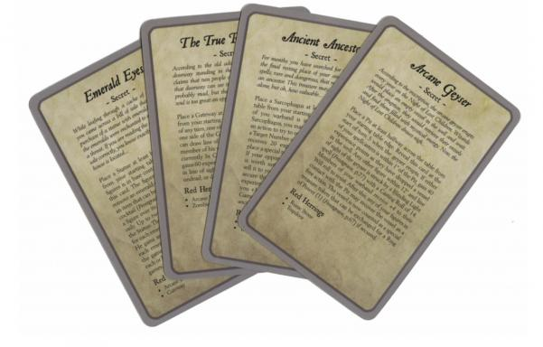 Frostgrave: Ulterior Motives Cards