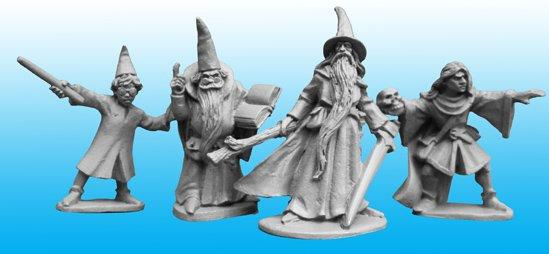 28mm Fantasy: Wizards and Apprentices